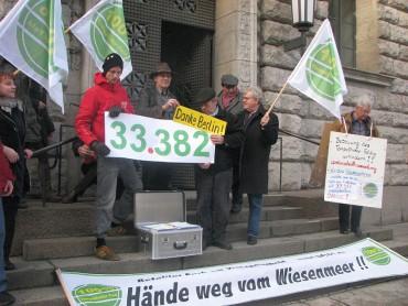 Volksbegehrensantrag: Erhalt des Tempelhofer Feldes