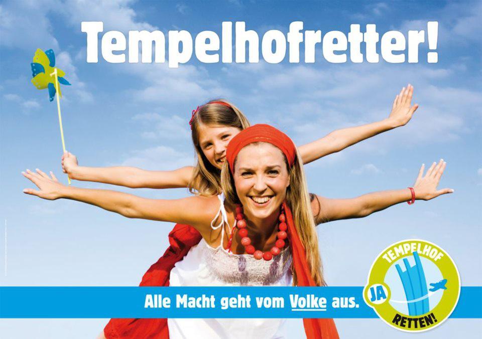 Volksentscheid für Weiterbetrieb des Flughafens ist der 1. Volksentscheid Berlins