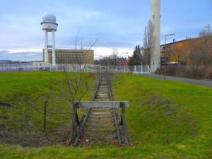 Tempelhofer FeldSuchraum AGleisanlage