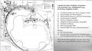 Flughafen Tempelhof, Lageplan, 1941/43